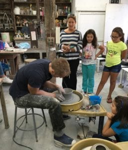 Ceramics Demonstration Photo
