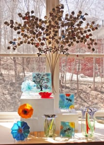 Beautiful handmade glass gifts at Brookfield Craft Center Gallery Gift Shop