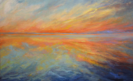 Joanne Conant - Orange Glow – Oil Painting