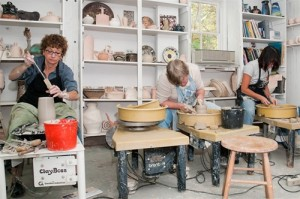 Beginners' classes at Brookfield Craft Center