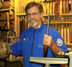 Keith Tompkins teaches End Grain Hollowing at BCC