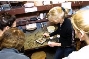 Soldering Workshop with Lessley Burke at Brookfield Craft Center