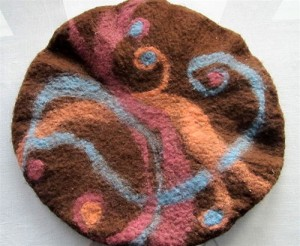 Felted Wool Beret making at Brookfield Craft Center