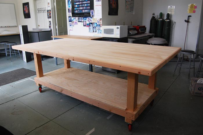 Large Work Tables Stunning Extra Large Work Tables With