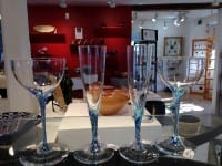 Hand crafted glassware