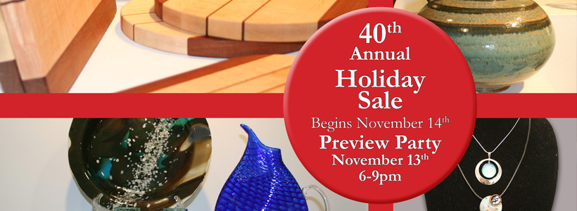 40th Annual Holiday Sale at Brookfield Craft Center, November 14th, 2015