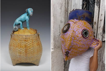 Alison Palmer's Paper & Clay exhibition: To Mexico & Back