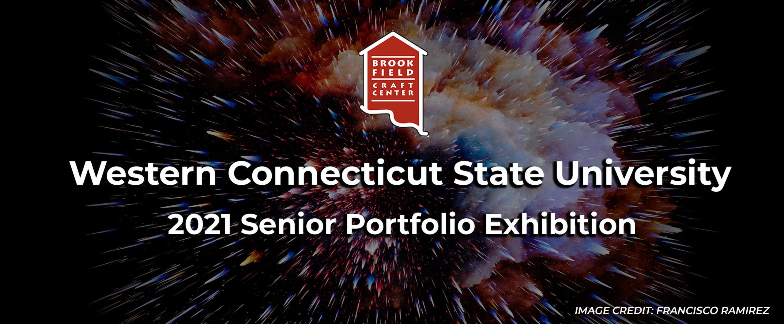 Western Connecticut State University 2021 Senior Portfolio Exhibition Header