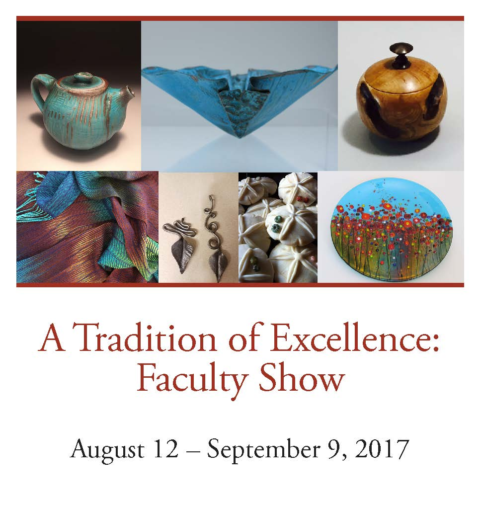 A Tradition of Excellence: BCC Faculty Show Aug 12 – Sept. 9