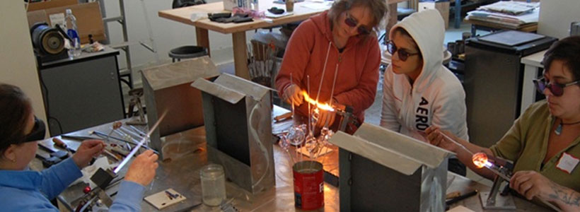 Glass Classes at Brookfield Craft Center CT