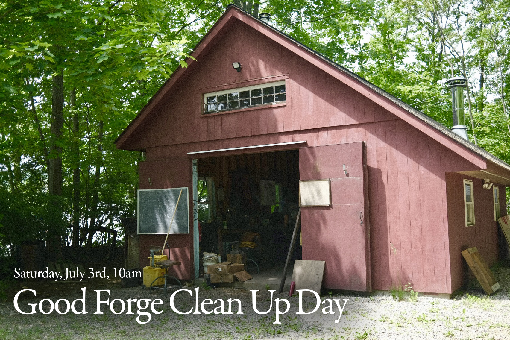Good Forge Clean-Up Day