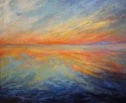 Joanne Conant - Orange Glow – Oil Painting