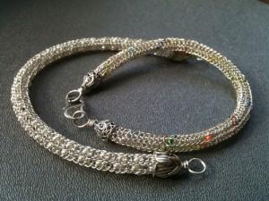 Chain w/Viking Knitting